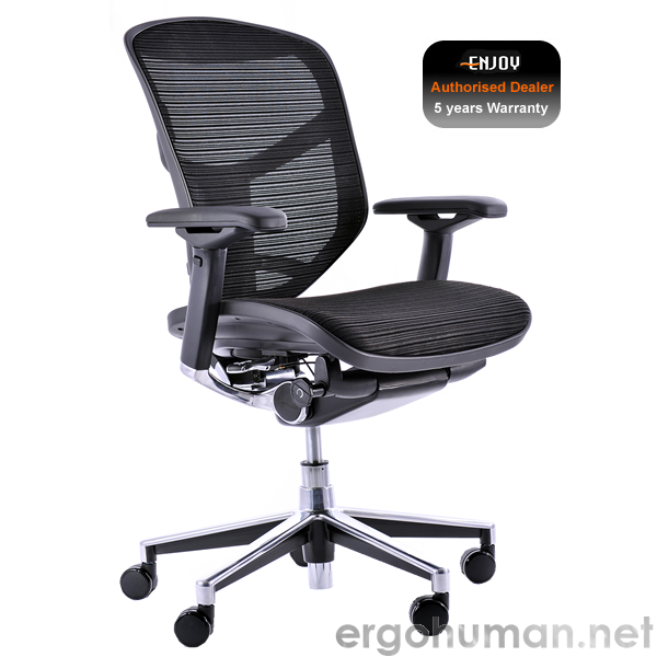 Enjoy Black Mesh Office Chair