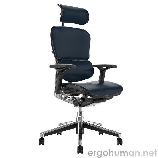 Ergohuman Elite Black Leather Office Chair
