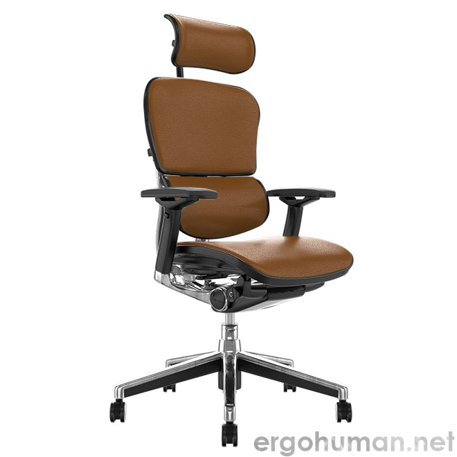 Ergohuman Elite Latte Leather Office Chair