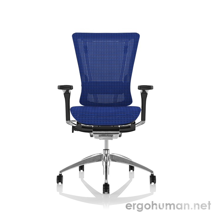 Nefil Blue Mesh Office Chair Front