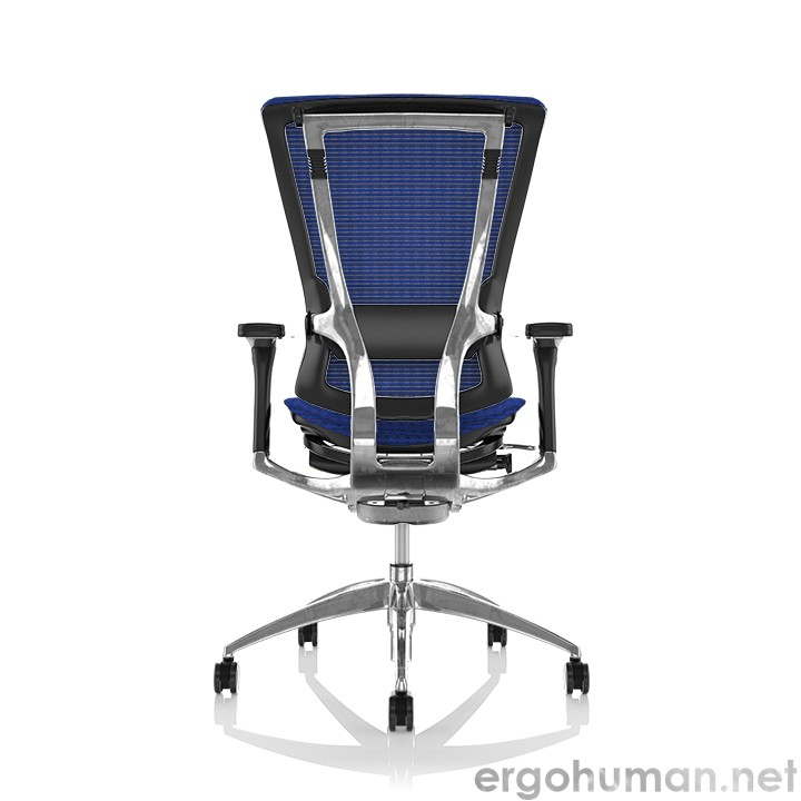 Nefil Blue Mesh Office Chair Back