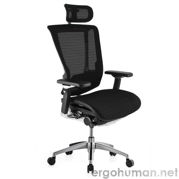 Nefil Black Mesh Office Chair